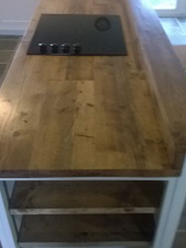 Reclaimed Scaffold Worktops Dove Furniture Amp Kitchens York