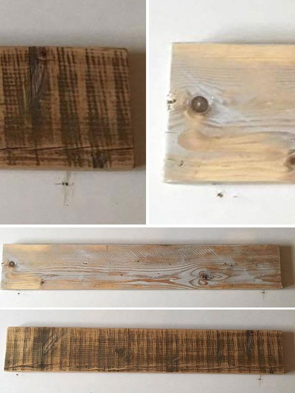 Pine Scaffold Board Shelves