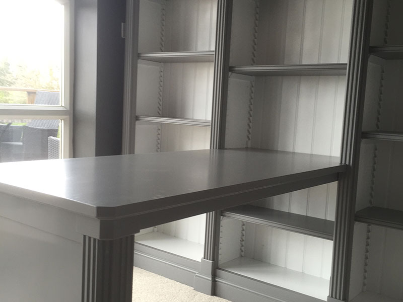 Handmade Bespoke Fitted Bookcases
