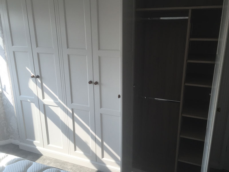 Handmade Bespoke Fitted Wardrobes